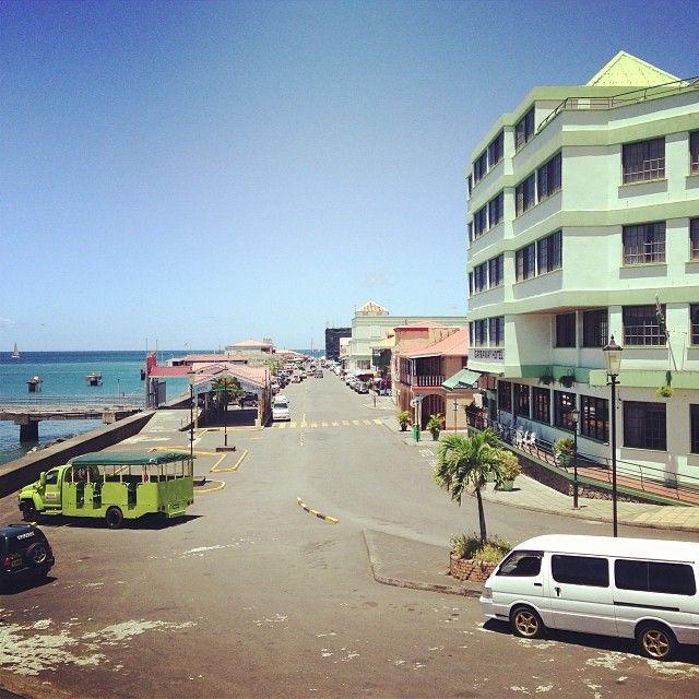 Port of Roseau, Dominica in Roseau, Saint George