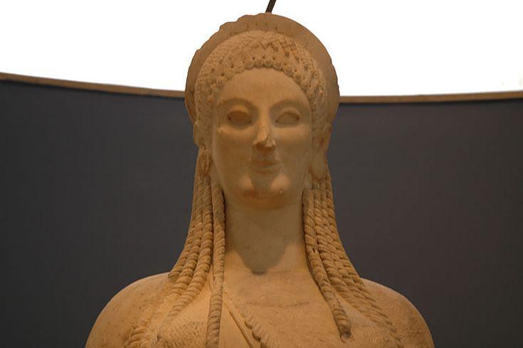 The Kores - Acropolis museum exhibit