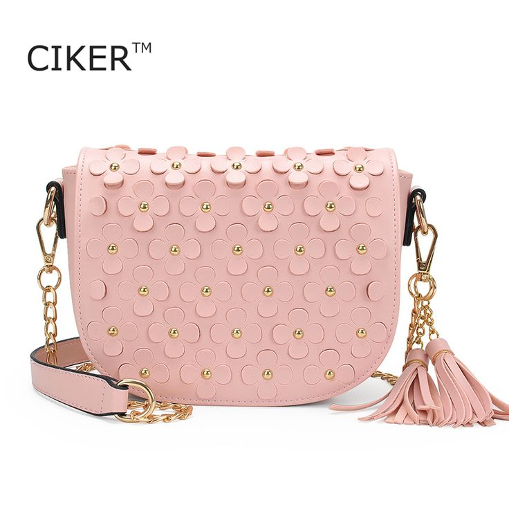 Cheap handbag laptop bag, Buy Quality handbag fastener directly from China bags for small dogs Suppliers: CIKER brand new rivet small crossbody bags for women shoulder messenger bag floral pattern PU leather handbag with tassel bolsas