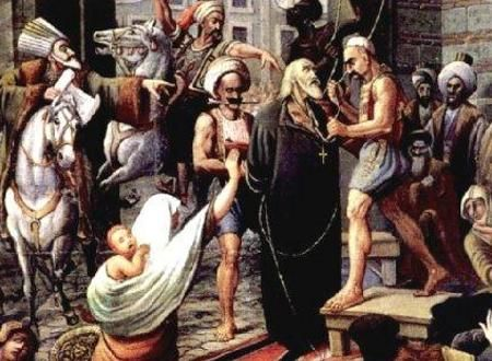 "mini.press: Ιστορία-1821 Ο Πατριάρχης Γρηγόριος ο Ε΄, απαγχονίζεται από τους Τούρκους, για αντίποινα στην Ελληνική Επανάσταση, μπροστά στο Πατριαρχείο Κωνσταντινουπόλεως, την ημέρα του Πάσχα. 1826 Οι ""Ελεύθεροι Πολιορκημένοι"" της πόλης του Μεσολογγίου, πραγματοποιούν ηρωική έξοδο από την πόλη, ανατρέποντας όποιον έβρισκαν μπροστά τους, μετρώντας πολλές απώλειες. Θεωρείται από τα πιο σημαντικά γεγονότα στην στρατιωτική ιστορία. 1896 Ο Σπύρος Λούης στέφεται Ολυμπιονίκης στο Μαραθώνιο..."