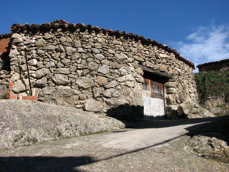 Arquitectura Tradicional en la parte alta de Cabrero.