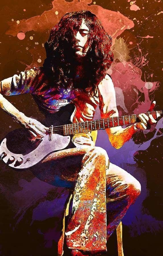 Jimmy Page-Led Zeppelin.........
