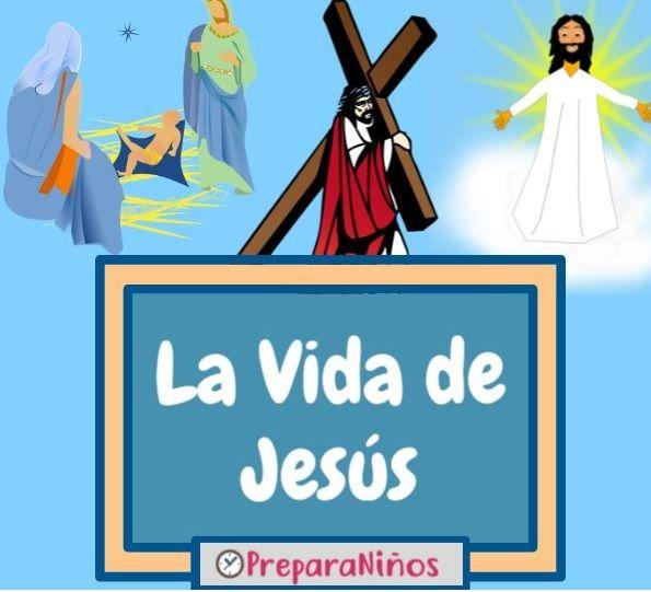 Jesús Vida Resumen Cronología E Historia Para Niños Biografia De Jesus La Historia De Jesus De Jesus