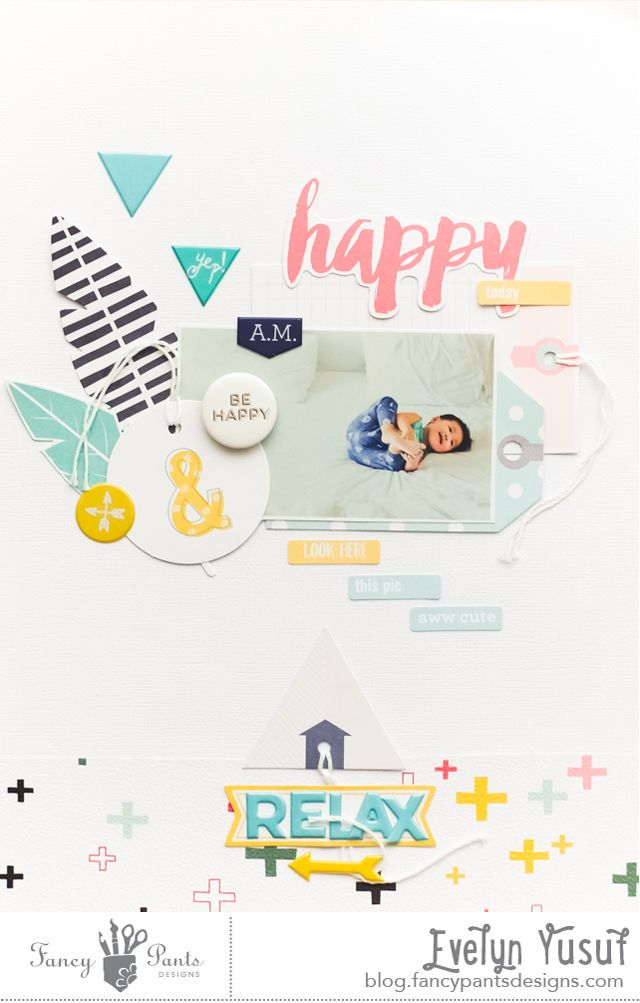 Happy and Relax FancyPantsDesigns by Evelynpy