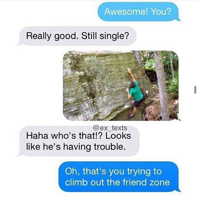 how to get out of the friend zone with texting