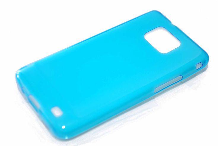 Чехол TPU силиконовый 0.3мм Samsung Galaxy S2 i9100 (голубой)  Чехол TPU силиконовый 0.3мм Samsung Galaxy S2 i9100 (голубой)
