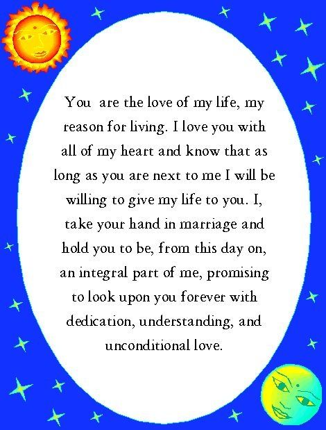 Personal Promise Funny Wedding Vowswedding Sayingsfunny Weddingswedding Officiant Script