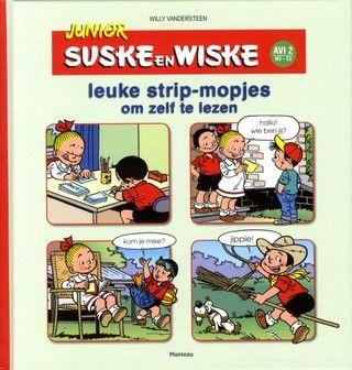 Junior Suske en Wiske; leuke strip-mopjes om zelf te lezen; AVI-leesniveau 2/M3-E3
