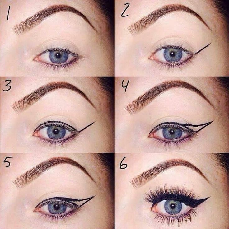 141 best images about Eyeliner on Pinterest   Angelina jolie eyes ...