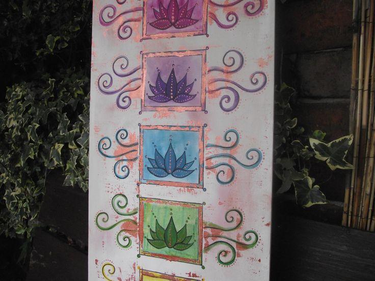 Chakra art,chakra painting,lotus flower painting,healing art,spiritual art,chakra canvas,chakra picture, - pinned by pin4etsy.com