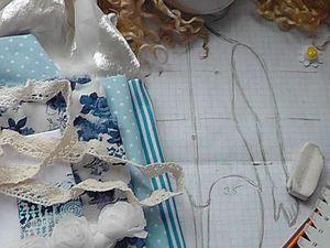 Как сделать аккуратный затылок текстильной кукле: мой способ - Ярмарка Мастеров - ручная работа, handmade