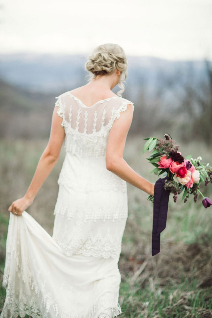 289 best Claire Pettibone Wedding Gowns images on Pinterest | Short ...