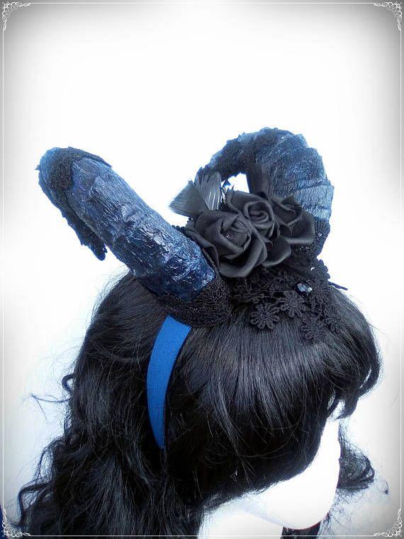 Shaman Horn headdress goat horns cosplay horns krampus