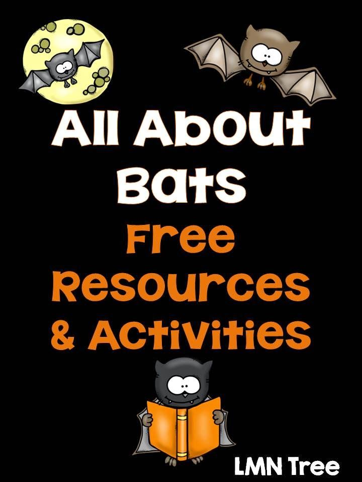 LMN Tree: All About Bats: Free Resources, Books, and Literacy Activities