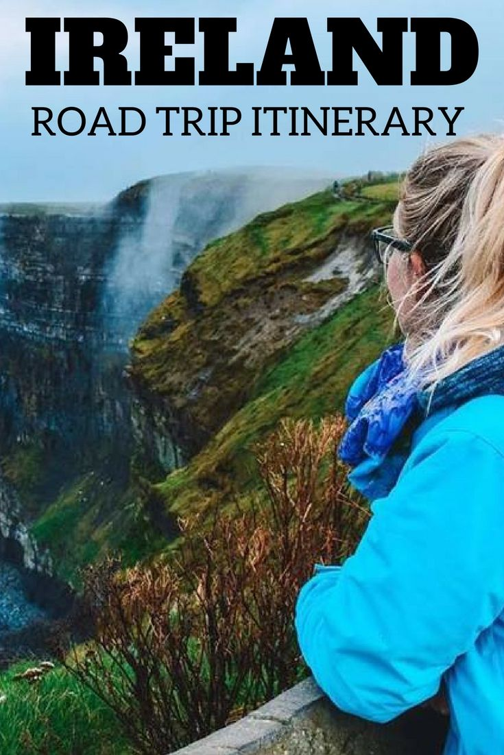 Find out the best road trip itinerary that will allow you to see the most of Ireland in just 3 days. Including Cork, Galway, Killarney, the Cliffs of Moher and Dublin. #ireland #roadtrip