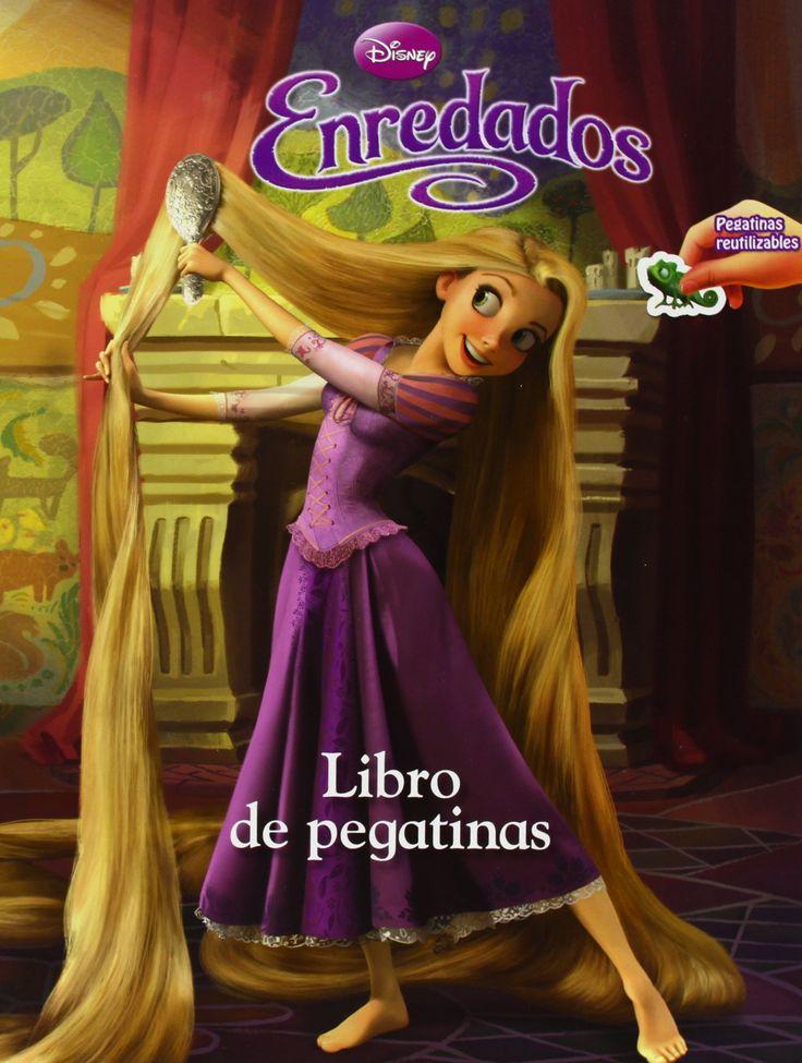 Enredados libro de pegatinas disney otras propiedades for Pegatinas de pared infantiles