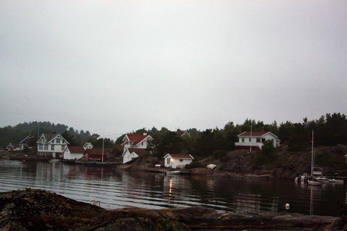 Akeroya, Norway. rainy afternoons.