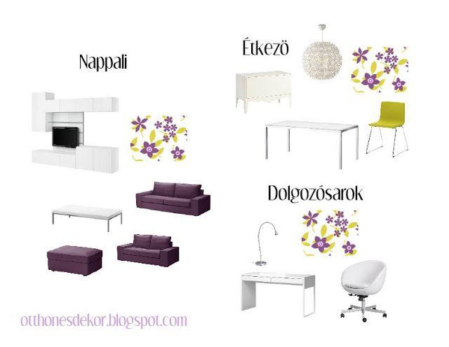 nappali, étkező, dolgozó, living room, dining room, home office