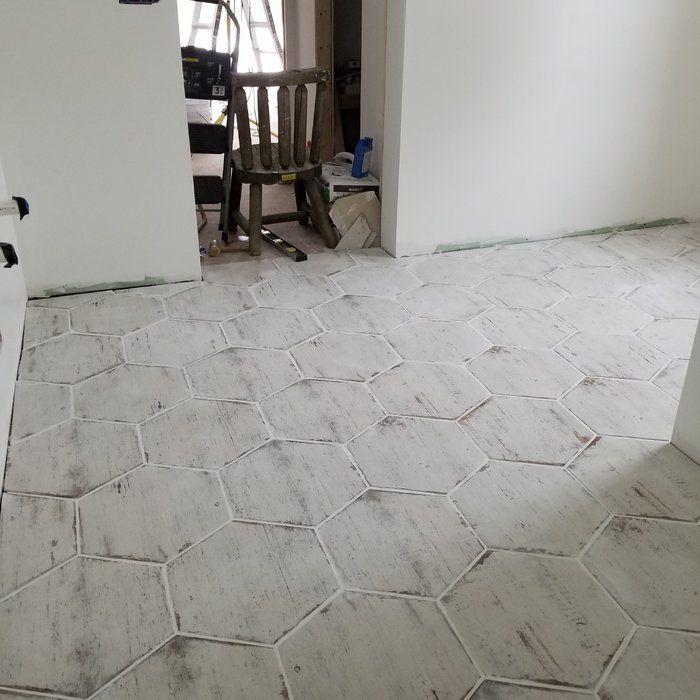 Rama 14 X 16 Porcelain Honeycomb Mosaic Wall Floor Tile Flooring Tile Floor Kitchen Flooring