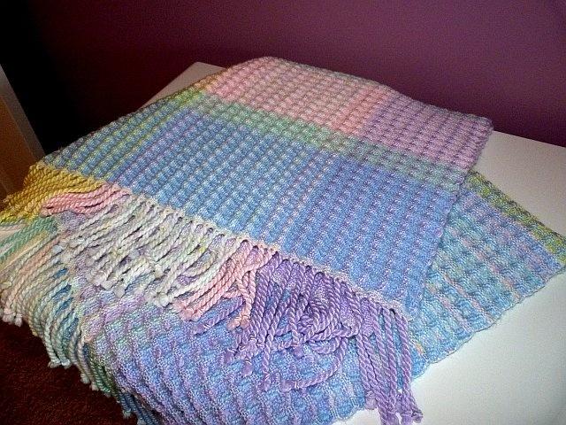 Waffle Weave Baby Blanket Weaving Blanket Weaving