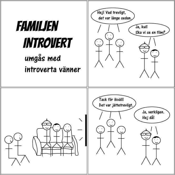 umgås med introverta vänner | Familjen Introvert  #introvert #familjenintrovert #humor #comic #kärlek #fredag #solitude #serie #serier #svenskaserier #livet #fredagsmys #familj #hsp #egentid #familjeliv #ensam #själv #egen #baravara #högsensitiv #självsamhet #självsam #film #vänner #social #hemma