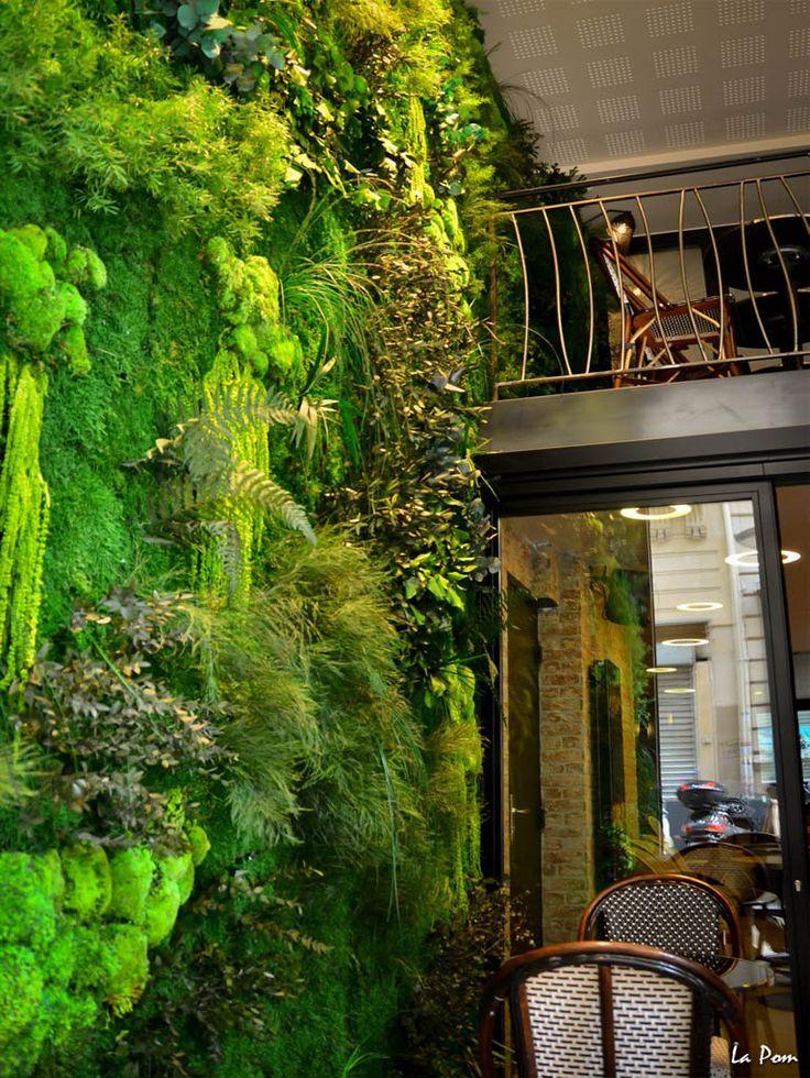 625 best jardin int rieur planters images on pinterest for Jardin vertical