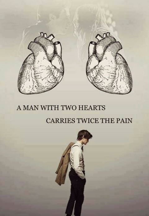 Two hearts = Twice the pain