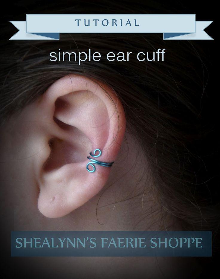 Shealynn's Faerie Shoppe: Simple Ear Cuff Tutorial