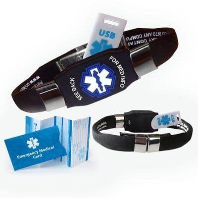 Top 10 Best Medical Alert Bracelets For Men