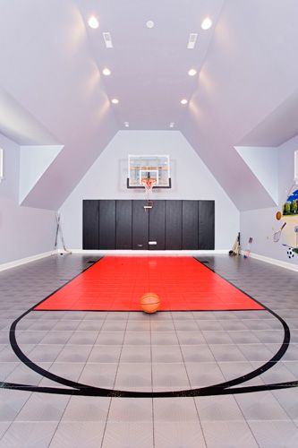 17 best ideas about indoor basketball court on pinterest for Indoor basketball court installation