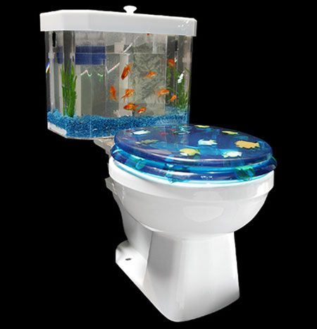 Hahaha Lol Fish Tank Sink Sink Aquarium Bathroom Sink