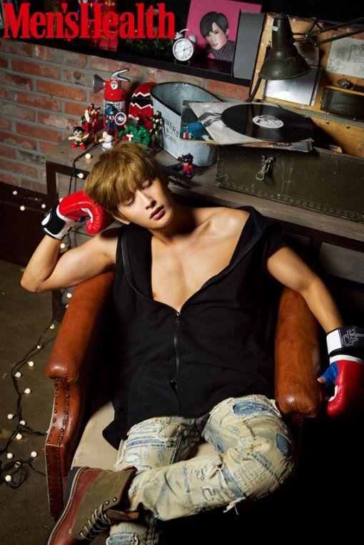 Block B's Jaehyo   Men's Health December Issue '15