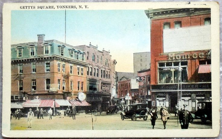 Gettys Square Yonkers New York