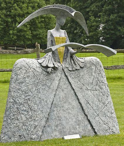 Chanting Cimarosa - by Philip Jackson, sculptor