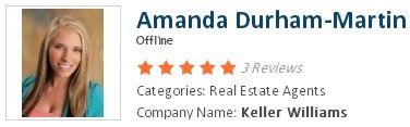 Amanda Durham-Martin Categories: Real Estate Agents  Company Name: Keller Williams