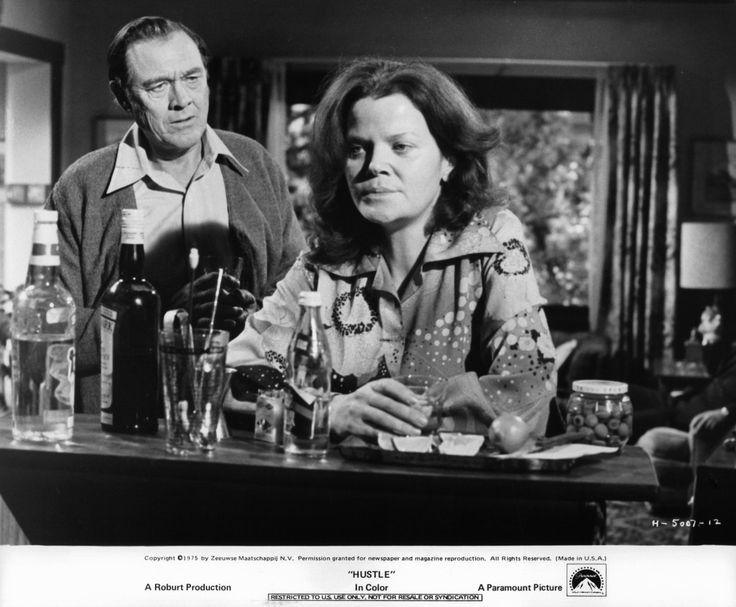 Eileen Brennan and Ben Johnson at an event for Hustle (1975)