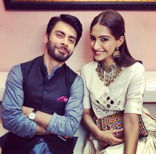 Sonam and Fawad Khan at Jaipur