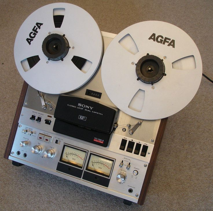 Sony TC-756-2 Stereo, 2 Track, High Speed Tape Recorder, Serviced & Aligned in Sound & Vision, Vintage, Tape Recorders & Reel-to-Reel   eBay