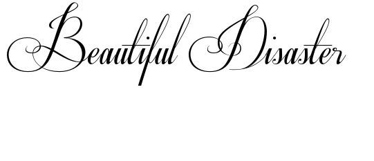 Beautiful Disaster Tattoo under Collar bone :)