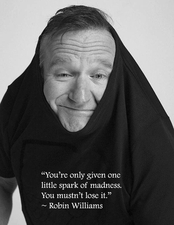 robin williams-love this guy!