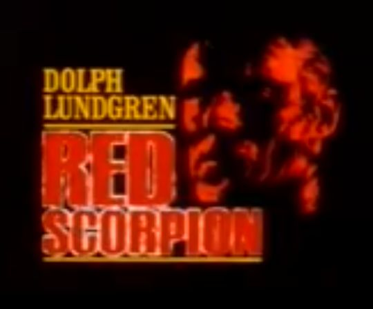 Red Scorpion 1 (1988) - Dolph Lundgren (Sweden, EU) #Genda #Nicolai #Iwakawa #Gent #Ghent #Brussels #UFA #PAL #VHS #Saksa #Tyskland #EU27 #Erasmus #Barcelona #Strasbourg #Nostalgie #preBrexit #Trier #Arthouse #Swede #Indie #Cannes #Avoriaz #Film #fest #Elokuvat #Hirviöt #Gojira #Heavy #metal #KMFDM #Rammstein #Belgio #Meshuggah #Nuclear #Blast #Spinefarm #Schorpionen #Nymphomaniac #Melancholia #Dubrovnik #Trump #vampyyrit #SoulCalibur #Gwonam #YTP #Morshu #Fari #Harkinian