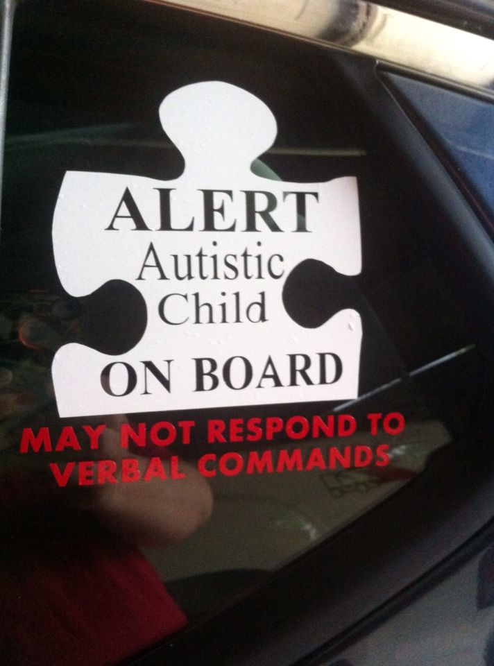 Best Autism Decals Images On Pinterest Autism Awareness Car - Custom awareness car magnet