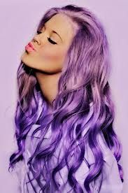 I love purple and this purple hair dye is just unreal :) <3 love it