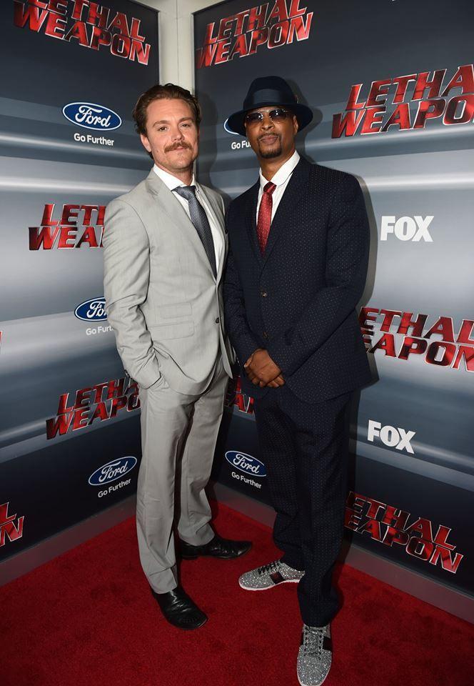 Clayne Crawford and Damon Wayans as Riggs and Murtaugh.