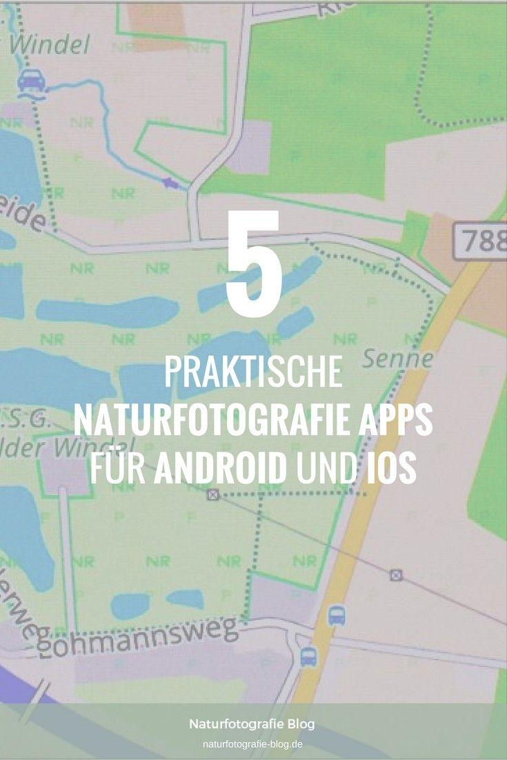 Fünf Naturfotografie Apps stelle ich Dir hier vor. Von Google Maps bis NaturaList.  #Naturfotografie #Apps #Maps #Naturalist #Wetterapp #Agrarwetter #Osmand #Exsate #Exsategoldenhour #Goldenhour #Goldene #Stunde #Goldenestunde