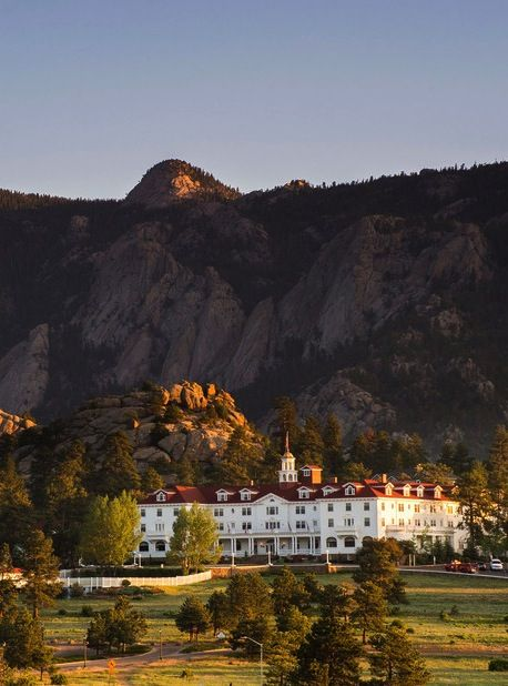 The Stanley Hotel, Estes Park, Colorado. Known to be Steven King's inspiration for the shining.