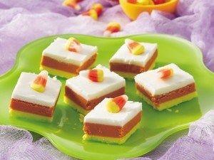 candy corn fudgeSugar Cookies Bar, Candies Apples, Halloween Parties Ideas, Halloween Candies, Corn Fudge, Fudge Recipe, Candy Corn, Candies Corn, Corn Recipe