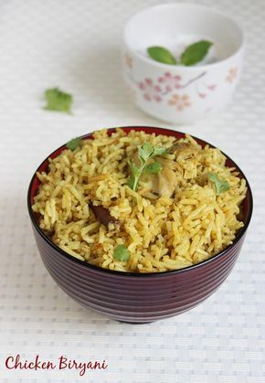 andhra chicken biryani recipe that can be followed by a newbie or even by a bachelor. This biryani is different from the chicken dum biryani or the muslim wedding style biryani.   This can be prepared with yogurt or tomatoes, though we don't need both. Iam also sharing the chicken biryani masala powder recipe here, …