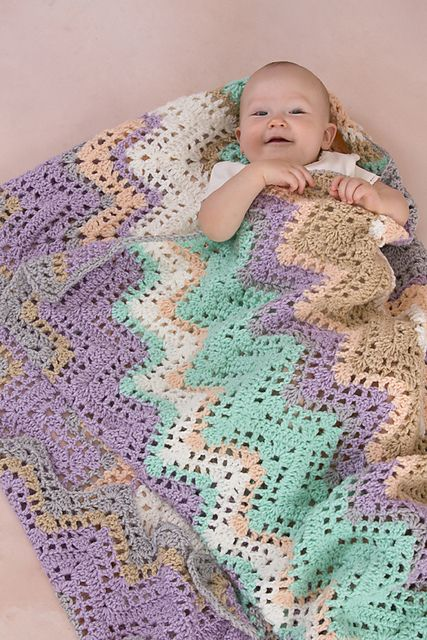 17 Best images about Crochet afghans ripple (granny ...
