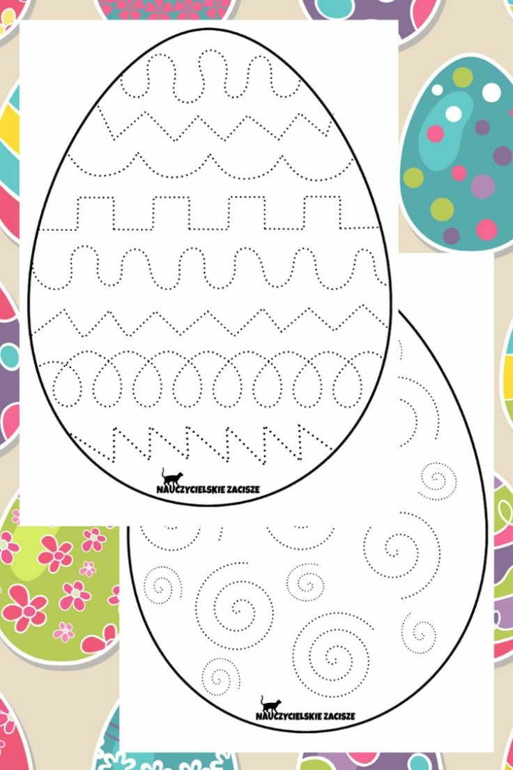 Wielkanocne Karty Pracy Easter Worksheets For Kids Easter Worksheets Crafts For Kids Worksheets For Kids